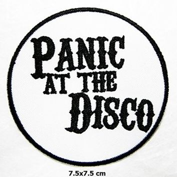 Panic At the Disco Songs Music Band Logo Vest Jacket Hat Hoodie Backpack Patch Iron On