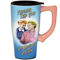 I Love Lucy™ Friends Like You Travel Mug