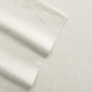 SONOMA life + style Block 400-Thread Count Sheet Set - Queen