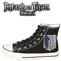 Attack on Titan Survey Corps Garrison Sneakers