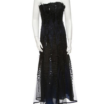 Carolina Herrera Sequin Gown