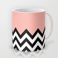 CORA COLORBLOCK CHEVRON  Mug by n a t a l i e
