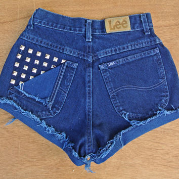 "High Waisted Shorts Size 1 / 2 / 3 Cutoffs Milky Fr3sh ""Stef"""