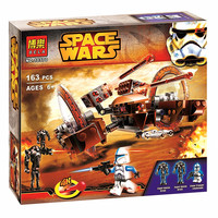 BELA 10370 Star Wars Attack of the Clones Hailfire Droid Exclusive Compatible With Legoe Building blocks Minifigures Bricks Toys