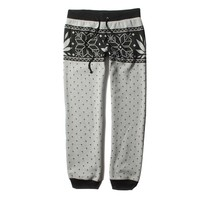 LRG - LRG Girls Charmed Sweatpant - Heather Grey - Bottoms - Womens