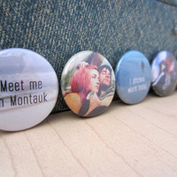 Eternal Sunshine of the Spotless Mind Pinback Button Set