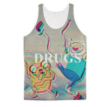 Adventure Time Drugs Tank