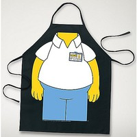 Simpsons Homer Character Apron - Spencer's