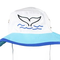 "Nantucket ""The Whale's Tail"" Bucket Hat"