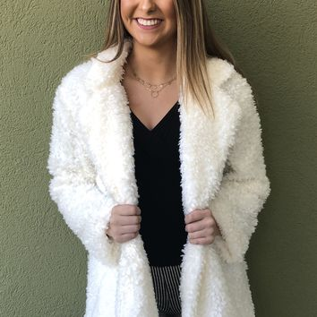Winter Wonderland Jacket- Cream