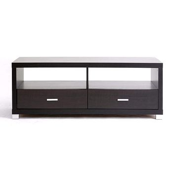 Derwent Modern TV Stand with Drawers By Baxton Studio