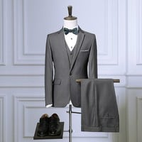 Men's Formal Slim Fit 3pc Business Suit