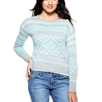 Nordic Crop Sweater