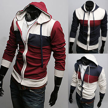 NWT Mens Slim Sexy Top Designed Hoody Jacket M L XL XXL - eBay (item 280628260888 end time  Mar-12-11 07:48:35 PST)