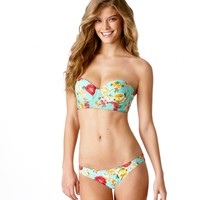 Aerie Printed Corset Bikini Top | Aerie for American Eagle
