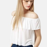 Women's Topshop Off the Shoulder Top