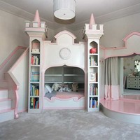 Princess Ballerina Castle Bed