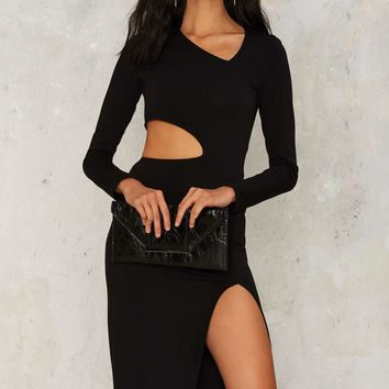 Nasty Gal Side to Side Cutout Dress