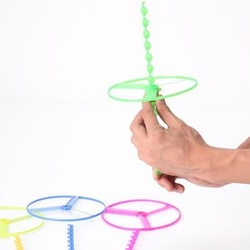 Outdoor Fun & Sports Classic Toys Sport Flying Fairy Child Outdoor Manual Rotary Ufo Frisbee Toys for Children Kids Toys
