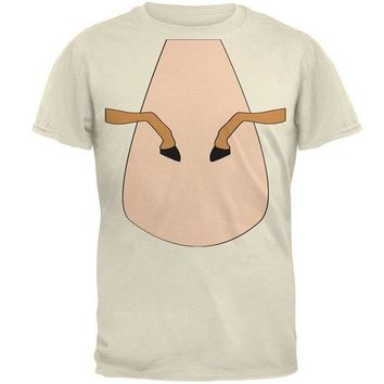 LMFCY8 Halloween Horse Costume Palomino Tan Mens T Shirt