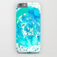 Watercolor - for iphone iPhone & iPod Case by Simone Morana Cyla