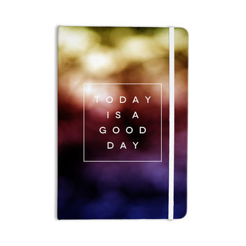 "Galaxy Eyes ""Good Day"" Rainbow Everything Notebook"