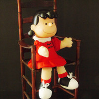 Lucy Van Pelt Peanuts Comic Strip Character 1963 McDonalds Collectible Vintage Doll