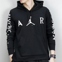 Trendsetter  Jordan Men  Fashion Cotton  Long Sleeve Top Sweater Hoodie