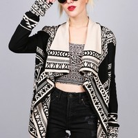 Tribal Torrent Cardigan | Trendy Cardigans at Pink Ice