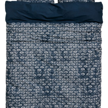 H&M Patterned Duvet Cover Set $49.99