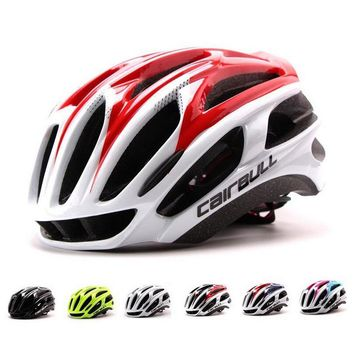 Queshark Cycling Helmet Road Safety Riding Mountain In-mold Bike Helmet Ultralight Bicycle Helmet Head Protection