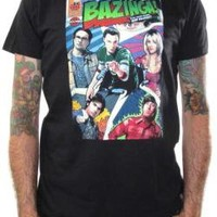 ROCKWORLDEAST - Big Bang Theory, T-Shirt, Comic Book