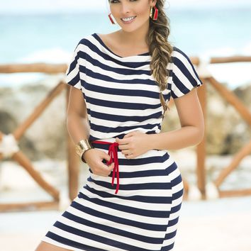 Set Sail Nautical Dress