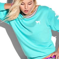 LIMITED EDITION COLLEGIATE CREW - PINK - Victoria's Secret