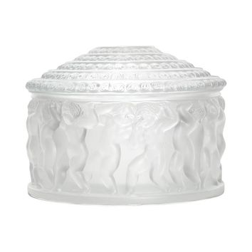 Open Box - Lalique Crystal Enfant Box 11364