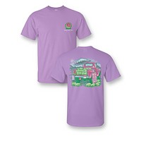 Sassy Frass Melons for Sale Truck Watermelon Girlie Bright T Shirt