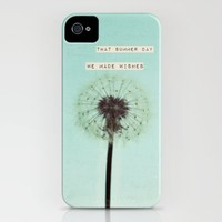 that summer day we made wishes iPhone Case by Beverly LeFevre | Society6