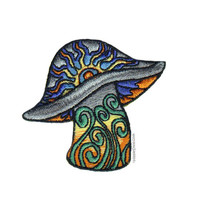 Radiant Sun Mushroom Patch on Sale for $3.99 at HippieShop.com