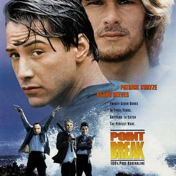 Point Break 27x40 Movie Poster (1991)