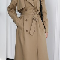 The Plain Trench Coat