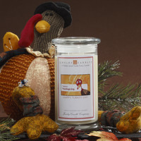 Happy Turkey Day - Jewelry Greeting Candles