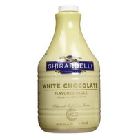 Ghiradelli Chocolate White Chocolate Flavored Sauce 89.4 oz Plastic Bottles - Pack of 1 - Walmart.com