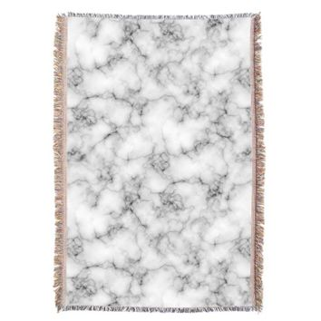 Marble Stone Throw Blanket
