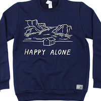 Happy Alone Crewneck Sweatshirt