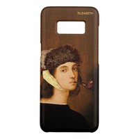 Raphael Self Portrait With Van Gogh Hat And Pipe Case-Mate Samsung Galaxy S8 Case