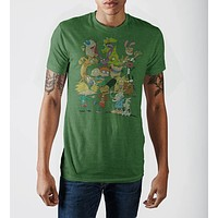 Nickelodeon Rewind 90s [Group Shot] Men's T-Shirt