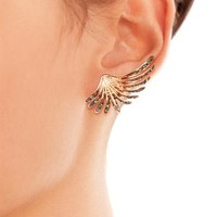 Camilla palm clip-on earrings | CA&LOU | MATCHESFASHION.COM