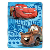 Cars 2 - Buddy Racers Entertainment 46x60 Micro Raschel Throw