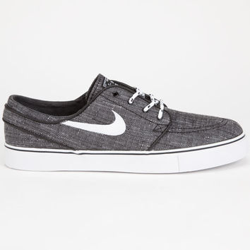 249a3ef2e867 Nike Sb Zoom Stefan Janoski Canvas Mens Shoes Charcoal In Sizes