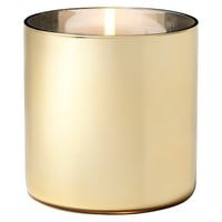 Lilly Pulitzer for Target Glass Hurricane Candle Holder - Gold (5)""